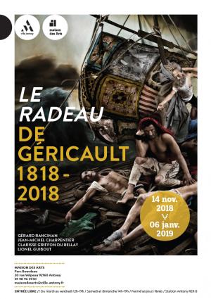 Affiche de l&aposexposition Le Radeau de Géricault 1818-2018