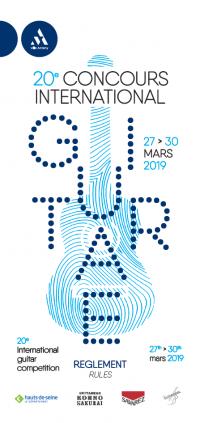 Visuel du concours de guitare 2018
