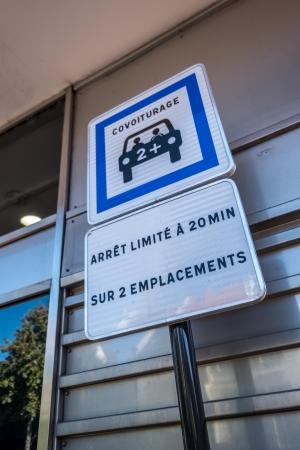 Dans le cadre du budget participatif 2018, une place réservée au covoiturage a d'ailleurs été aménagée juste devant la gare RER du centre-ville.