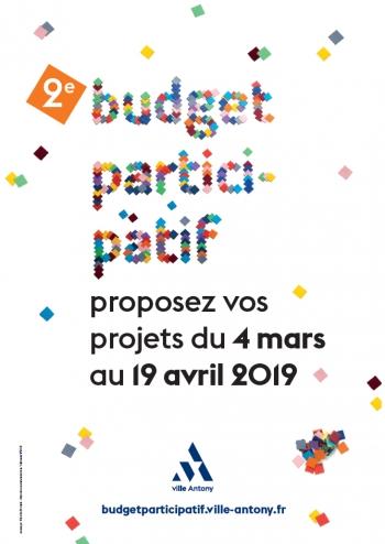 Affiche du budget participatif 2019