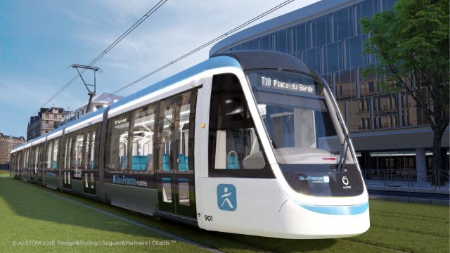 Crédit : Alstom / Saguez & Partners pour Île-de-France Mobilités