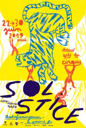 Affiche du festival Solstice