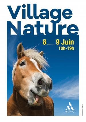 Affiche du Village Nature et Environnement 2019