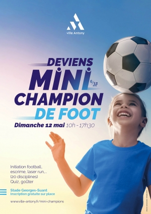 Affiche des mini champions 2019