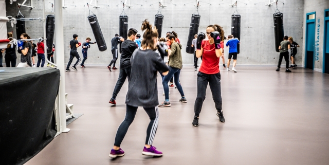 Les membres d'Antony sport boxe ont découvert avec plaisir leur nouvel espace d'entraînement