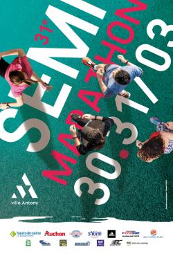 Affiche du semi-marathon 2019