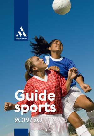 Guide des sports 2019-2020