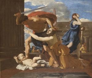 Poussin, le massacre des Innocents