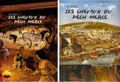 Joël Polomski, Les chevaux du Pech Merle, tome 1 : Genèse et tome 2 : Réminiscence, autoédition, 2017 et 2019
