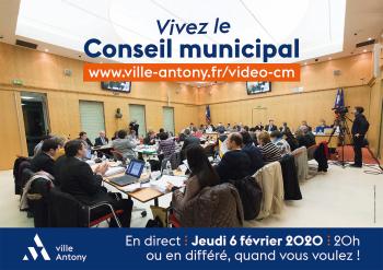 Conseil municipal du 6 février 2020