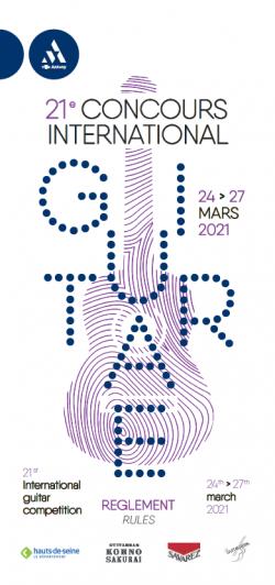 Concours de guitare 2021