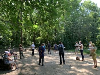 Visite participative du Bois de l&aposAurore
