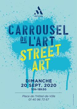Carrousel de l&aposArt et Street Art