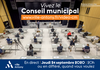 Affiche du Conseil municipal