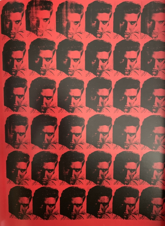 Andy Warhol (1928-1992)  RED ELVIS, 1962   sérigraphie sur toile- 175 x 132 cm NY The AndyWarhol Foundation Inc.
