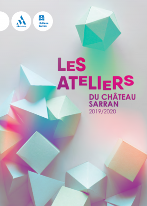Visuel de la brochure des ateliers Chateau Sarran