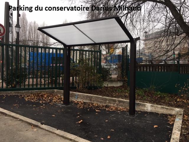 Parking conservatoire Darius Milhaud